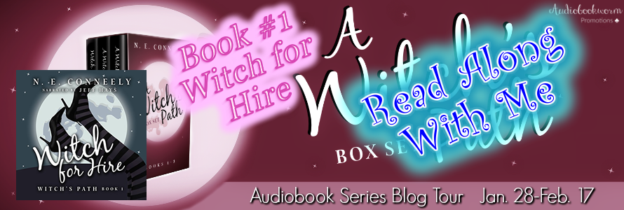 Read A Long With Me: Witch for Hire